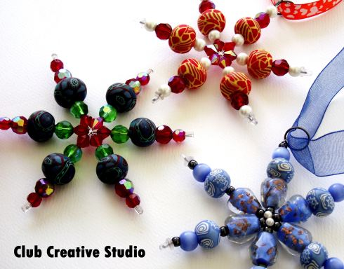 Club Creative Studio: Artisan Snowflake Ornaments