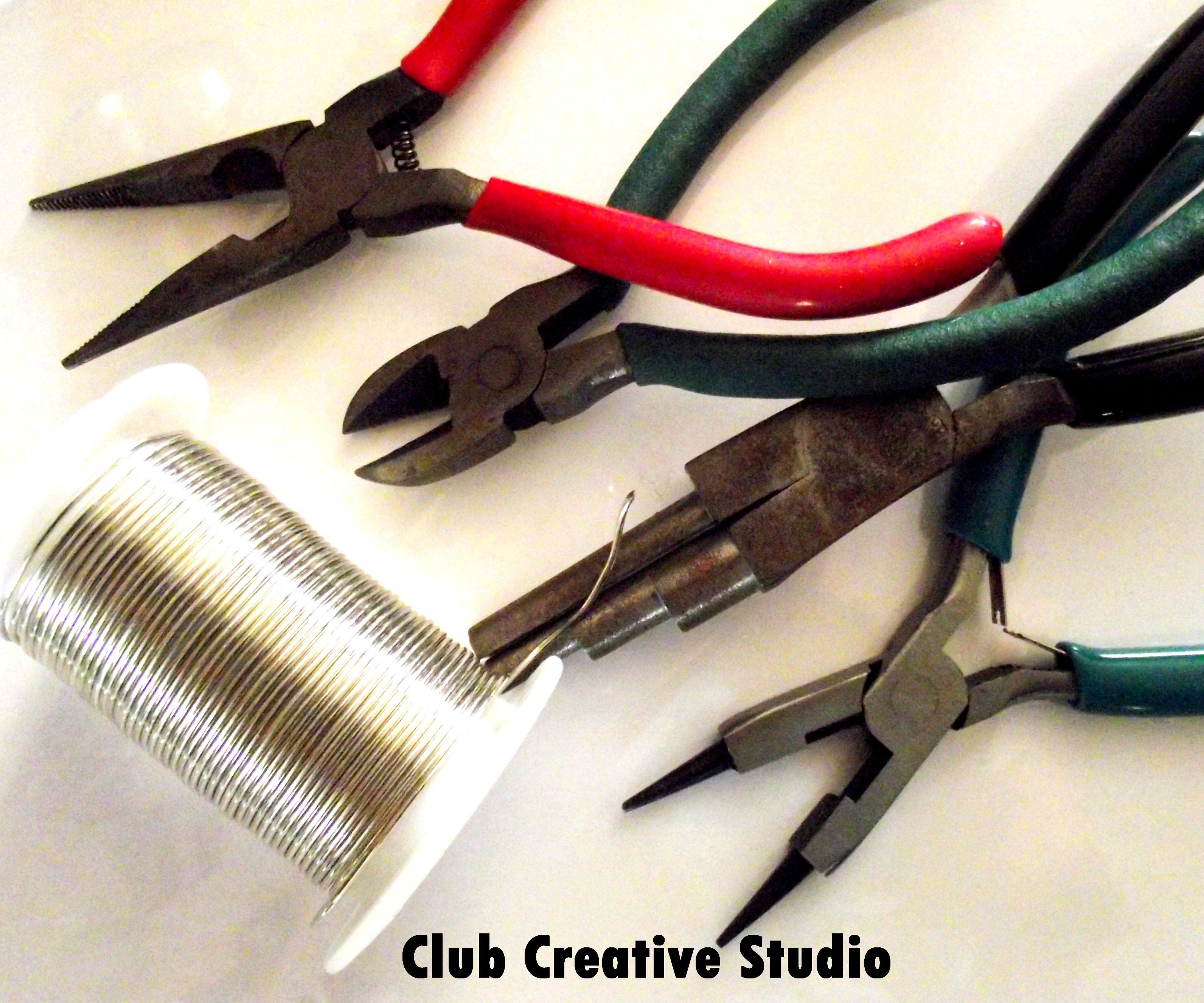 Wire Art Club Creative Studio Cable Wiring Tools I Suggest These For Use To Create A Hook And Loop Set