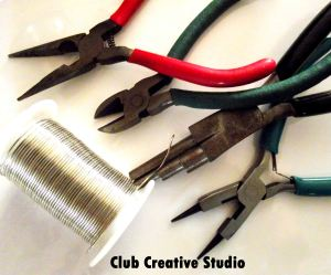 I suggest these tools for use to create a hook and loop set.