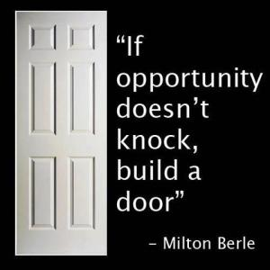 Miltom Berle Quote on Opportunity