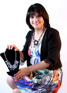 Making beautiful beads in my workspace: Club Creative Studio, Veronica Campos-Hallstrom