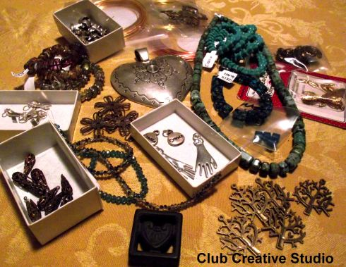 This is Club Creative Studio's bead stash from 01/03/2013.